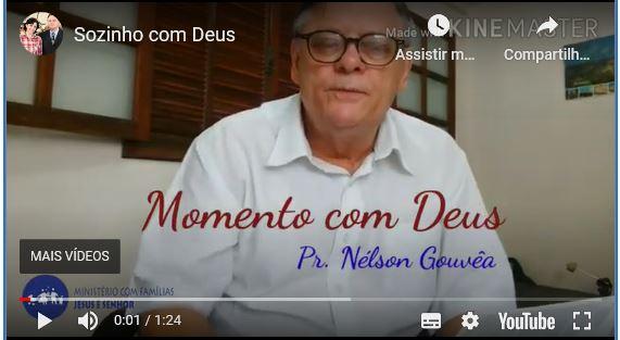 Sozinho com Deus (Vídeo)